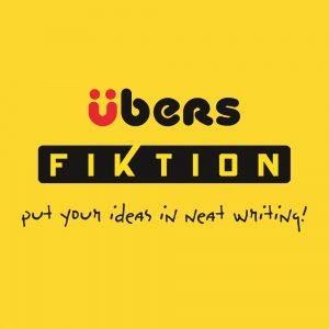 Logo Ubers Fiktion, roller cu guma
