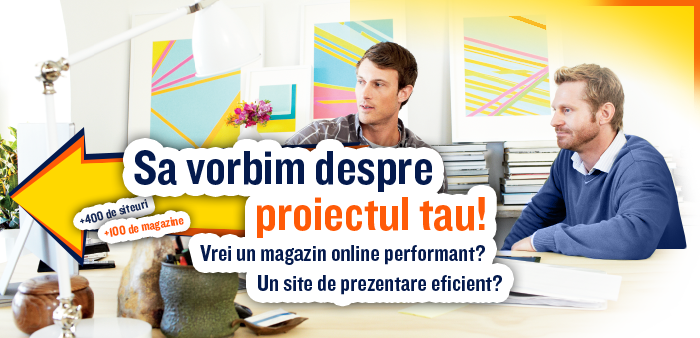 Creare site s magazin online prin Argebit.com