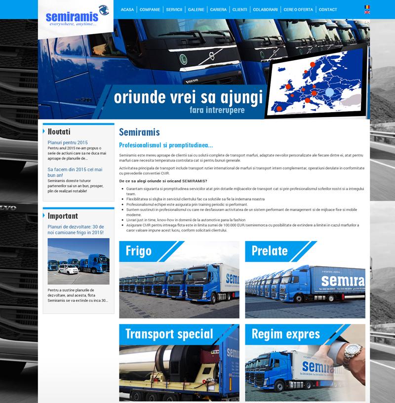 Semiramis Trans, una din firmele de prim rang din domeniul logisticii a apelat la Argebit