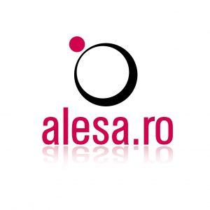 logo realizat pentru magazinul online de posete Alesa.ro