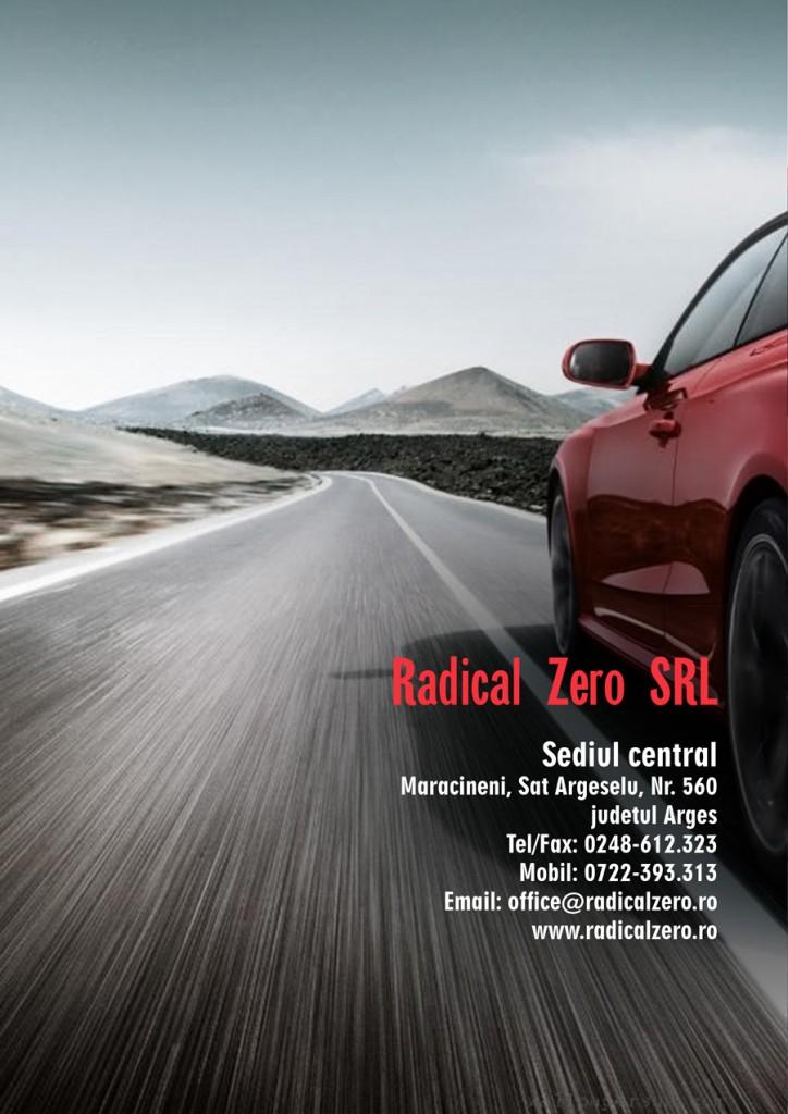 Realizare mapa prezentare Radical Zero Maracineni