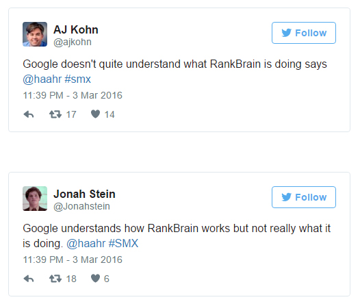 Inginerii Google nu inteleg cum functioneaza RankBrain in totalitate