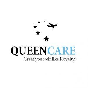 Creare logo pentru proiectul QueenCare.ch