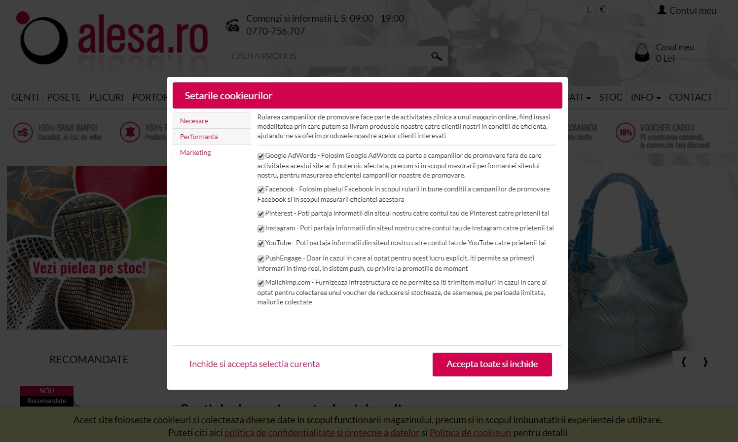Cum implementam GDPR in Alesa.ro