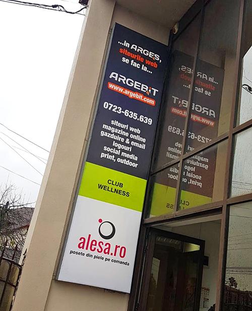 Creare siteuri web in Pitesti. In Arges, in Pitesti, siteurile web se creeaza la Argebit