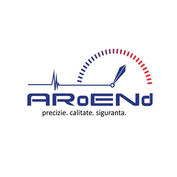 Creare logo ARoENd - Asociatia Romana de Examinari Nedistructive